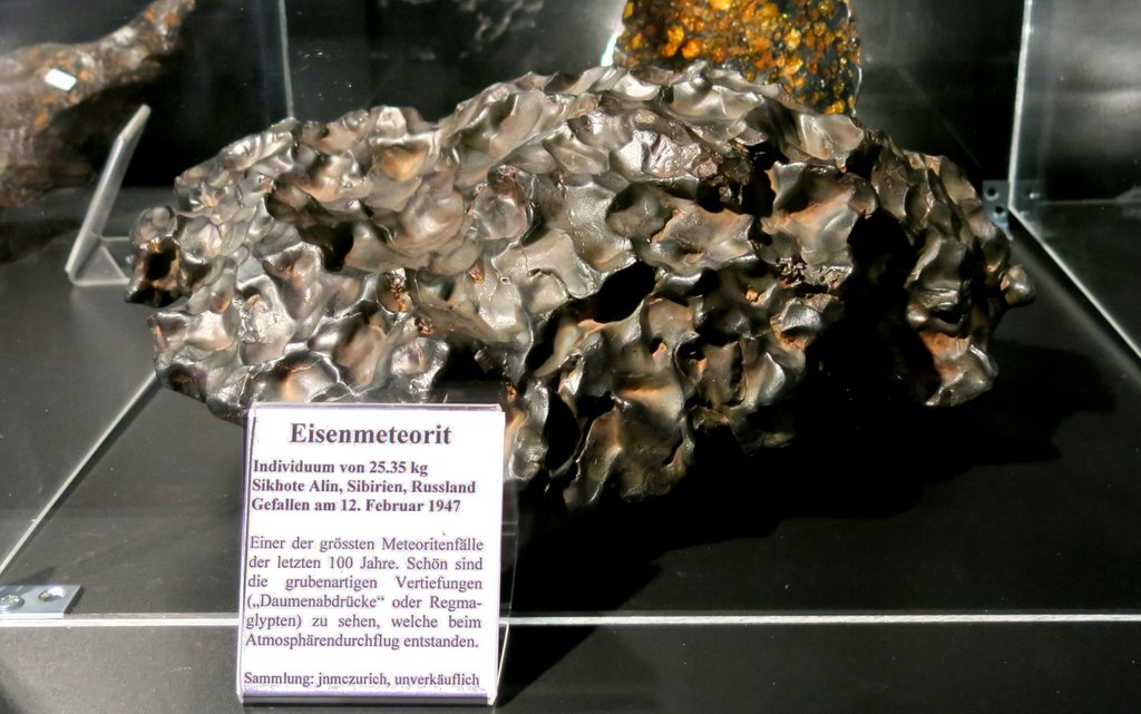 Eisenmeteorit aus Sibirien
