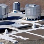VLT auf dem Paranal in Chile (Bild: ESO).