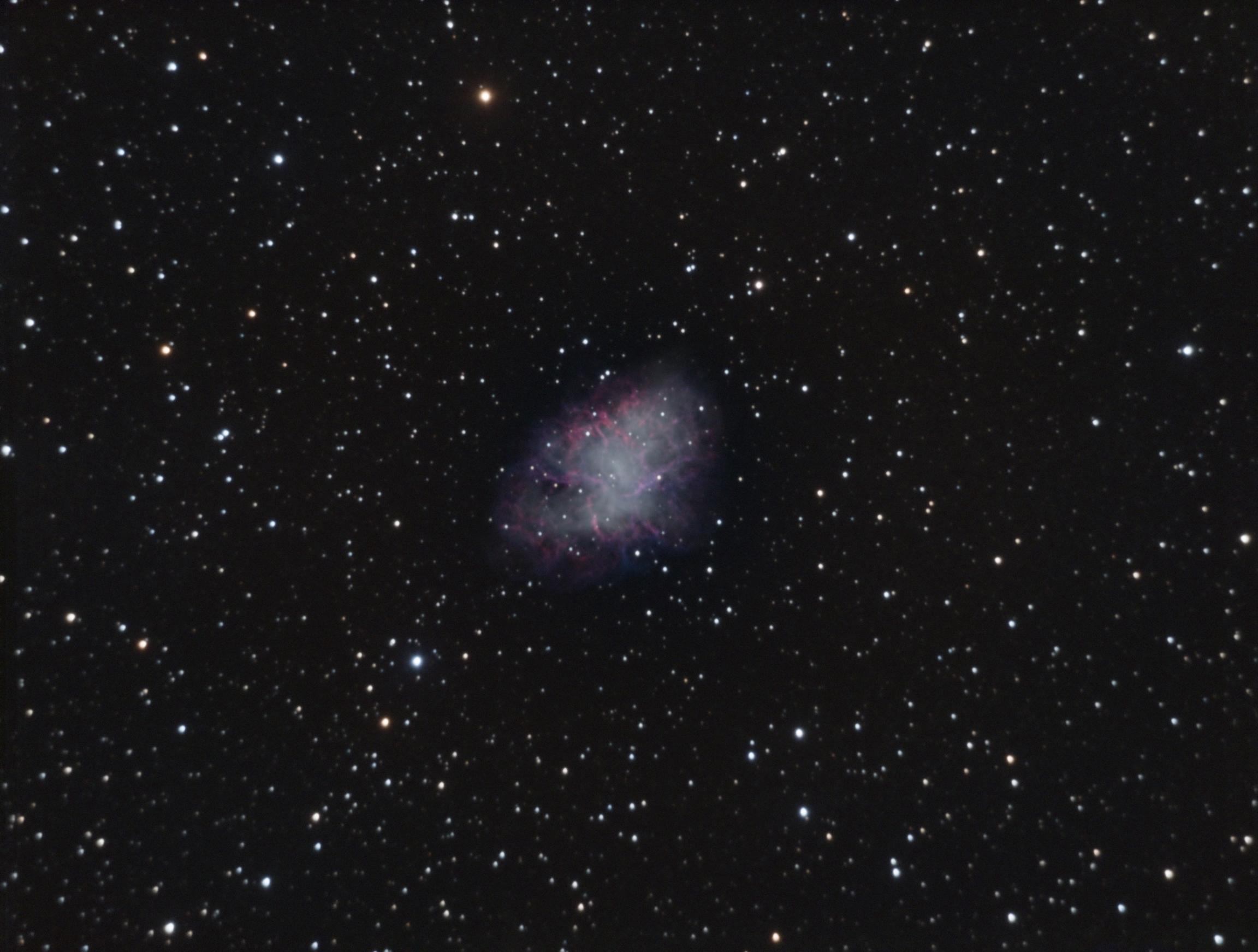 M1, die Supernova im Krebs.